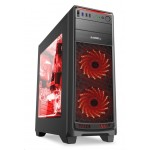 1stCOOL skříň GAMER 1 Aura ARGB, Middle Tower, AU, USB 3.0 + Set FAN ARGB, bez zdroje