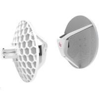 MikroTik Wireless Wire Dish (LHGG-60ad), 1Gbps full-duplex bez kabelů, 802.11ad, 60GHz, kompletní spoj, L3