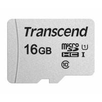 TRANSCEND Micro SDHC 300S 16GB UHS-I U1, bez adaptéru