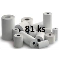 Papierový kotúč papierová páska TERMO 1 + 0, 80/60/12 (Epson, Star, Birch, Wincor) 43m