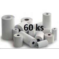 Papierový kotúč papierová páska TERMO 1 + 0, 80/70/12 (62m)