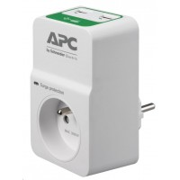 APC Essential SurgeArrest 1 outlets with 5V, 2.4A 2 port USB charger, 230V France