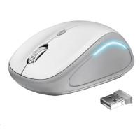 TRUST myš Yvi FX Wireless Mouse - white