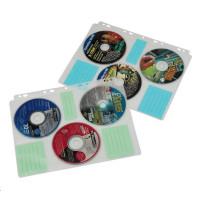 Hama fólia na 6 CD/DVD, DIN A4, balenie 10 ks