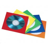 Hama paper Protection Sleeves, pack of 100, assorted colours,welded in foil