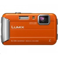 "Panasonic DMC-FT30EP-D orange (16 Mpx, 4x zoom, 2.7"" LCD, HD video, odolný)"