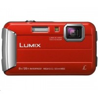 "Panasonic DMC-FT30EP-R red (16 Mpx, 4x zoom, 2.7"" LCD, HD video, odolný)"