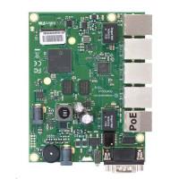 MikroTik RouterBOARD RB450Gx4, quad-core 716MHz ARM CPU, 1GB RAM, 5x LAN, vč. L5 licence