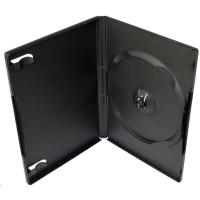 PP box 1DVD čierny push-up system (14mm) 100 ks/bal