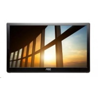 "AOC MT IPS LCD WLED 15,6"" I1659FWUX - IPS panel, 1920x1080, 220cd, USB 3.0, usb napajeni"