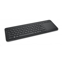 Microsoft Keyboard All-in-One Media, English, Black