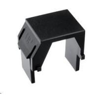 Solarix Keystone záslepka do modulárních patch panelů nebo zásuvek černá / 10ks