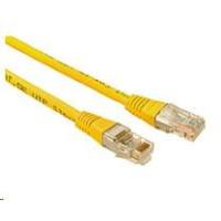 Solarix Patch kabel CAT5E UTP PVC 3m žlutý non-snag-proof