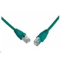 Solarix Patch kabel CAT6 SFTP PVC 1m zelený snag-proof