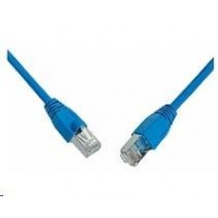 Solarix Patch kabel CAT6 SFTP PVC 2m modrý snag-proof