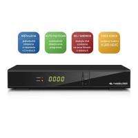 AB-COM CryptoBox 700HD (sat.prijímač, 1xčítačka, HDMI, SCART, 2x USB, LAN, Mediaplayer)