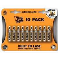 JCB SUPER alkalická batéria AA (LR06), blister 10 ks