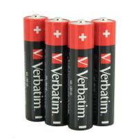 VERBATIM Alkalické baterie AAA, 4 Pack - Shrink