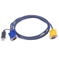 ATEN KVM sdružený kabel k CS-12xx, CS-231 USB, 6m