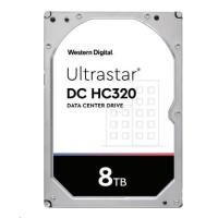 Western Digital Ultrastar® HDD 8TB (HUS728T8TAL5201) DC HC320 3.5in 26.1MM 256MB 7200RPM SAS 512E TCG P3 (GOLD SAS)