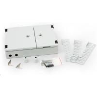 TRITON Nástěnný optický rozvaděč 24x ST, 24xSC Single. 16x SC duplex, černá