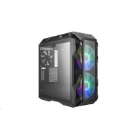 case Cooler Master MasterCase H500M, E-ATX, 1x USB 3.1 Type-C, 4x USB3.0, bez zdroje, kovová šedá