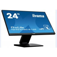 Iiyama dotykový monitor ProLite T2454MSC-B1AG, 60cm (23,6''), CAP 10-touch, Full HD, black