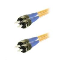Duplexní kabel 9/125, ST/ST, 1m