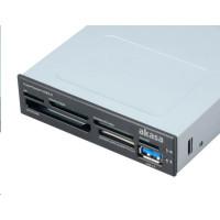 AKASA čtečka paměťových karet, interní, USB 3.0
