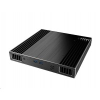 AKASA počítačová skříň Plato X7D, MiniITX, černá