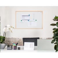 Magnetická tabule AVELI 90x60, dřevěný rám