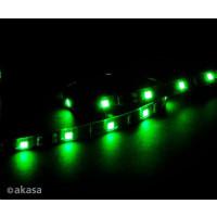 AKASA LED pásek Vegas M, magnetický, zelený