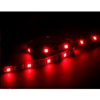 AKASA LED pásek Vegas M, magnetický, červený