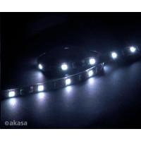 AKASA LED pásek Vegas M, magnetický, bílý