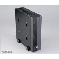 AKASA počítačová skříň Crypto VESA, MiniITX, černá + 80W AC adaptér