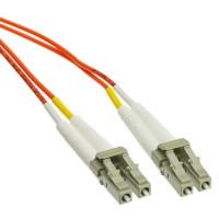 Duplexní kabel 62,5/125, LC-LC, 1m
