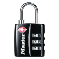 Master Lock TSA 4680EURDBLK Visací kombinační zámek
