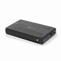 """GEMBIRD externí box pro 3.5"""" zařízení, USB 3.0, SATA, černý"""