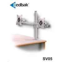Stolní držák na 2 monitory Edbak SV05