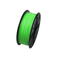 GEMBIRD Tisková struna (filament) PLA, 1,75mm, 1kg, fluorescentní, zelená