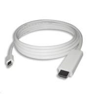 PREMIUMCORD Kabel mini DisplayPort 1.2 na HDMI 2.0, pro rozlišení 4Kx2K@60Hz, 3m
