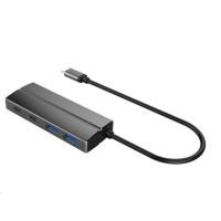 PREMIUMCORD 10G SuperSpeed USB Hub Type C to 2 X USB 3.1 A + 2 X USB 3.1 C Aluminum