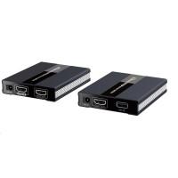 PREMIUMCORD HDMI extender s USB na 60m přes jeden kabel Cat5/6, bez zpoždění