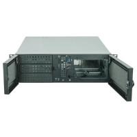 CHIEFTEC skříň Rackmount 3U ATX/mATX, UNC-310A-B, zdroj BDF-600S (600W)