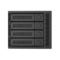 "CHIEFTEC SAS/SATA Backplane CMR-3141SAS, 3x 5,25"" for 4x 3,5"" HDDs/SSDs"
