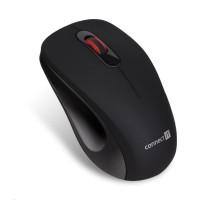 """CONNECT IT """"MUTE"""" bezdrátová optická tichá myš, USB, (+ 1x AA baterie zdarma), černá"""