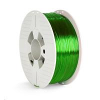 VERBATIM 3D Printer Filament PET-G 1.75mm 1000g green transparent