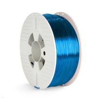VERBATIM 3D Printer Filament PET-G 2.85mm 1000g blue transparent