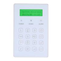 EVOLVEO bezdrátová mini klávesnice s displejem