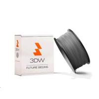 3DW - PLA  filament pre 3D tlačiarne, priemer struny 1,75mm, farba šedá, váha 1kg, teplota tisku 190-210°C